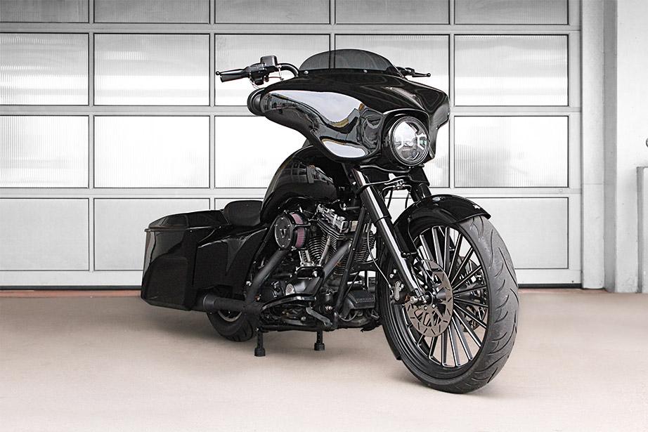 Harley Davidson Bagger Umbau Car Und Zweiradcenter